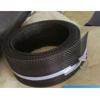 China 12 Mesh Twill Weave FeCrAl Woven Square Wire Mesh Heat Resistance For Infrared Burner wholesale