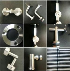 China Accesorios decorativos / Ornamentales SS201 SS304 SS316 para Barandas Escaleras Baños y Pasamanos 38.1 mm Y 50.8mm wholesale