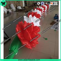 China 10m Inflatable Rose Flower Chain For Wedding Decoration wholesale