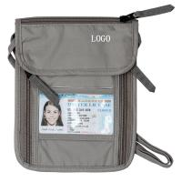 China Ripstop Nylon Grey RFID Travel Bags Waterproof Travel Waist Money Belt wholesale