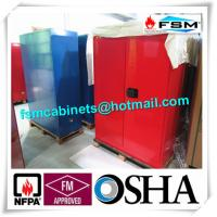 China Chemical Combustible Storage Cabinets , Industrial Safety Cabinets For Dangerous Goods wholesale