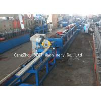 China Automatic PU Foam Roller Shutter Door Roll Forming Machine 50HZ / 3 Phase wholesale