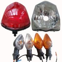 Titan 150 Motorcycle Led Running Lights , Motorcycle Led Turn Signals For Brazil Motorbike