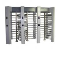 Quality Full height turnstile security systems with card reader, fingerprint for time for sale