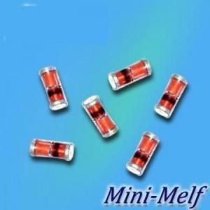 China 0.5W Zener Diode Bzv55c2V0-Bzv55c75 Minimelf 1206 SOD-80C wholesale