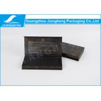China Fashion Elegant Pen Packaging Box Black Paper Customized With Outer on sale