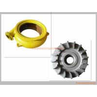 China Cast Iron Long Wearing Centrifugal Slurry Pump Parts OEM / ODM Availabl wholesale