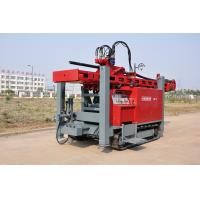 China Safety Self - propelled Crawler Mounted Water Well Drilling Rig 400m 2-5 inch wholesale