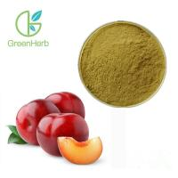 China Anti Allergy Dried Plum Extract Reduce Fatigue Brown Fine Powder UV Test Method on sale