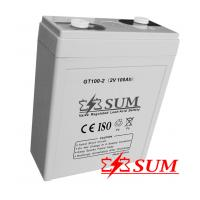 China 2V 100Ah gel battery for solar system on sale