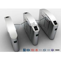 Quality Flap Wing Automatic Systems Turnstiles Polishing With Anti - Reversing Passing for sale