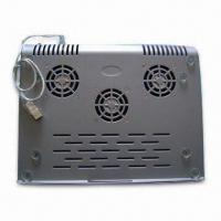 China Laptop Cooler, Built-in 3 Fans, Helps to Dissipate the Heat-air Away wholesale