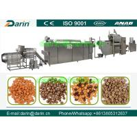 Quality Professional and affordablepet food processing line / dog food making machine for sale