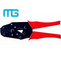 China 22 - 10 AWG Wire Terminal Crimper , MG - 03C Carbon Steel Electrical Crimping Tool wholesale