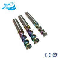 China DLC End Mill For Aircraft  Aluminum High Speed High Finishing Cnc Tool Milling Cutter Machine Tool Colorful Co wholesale
