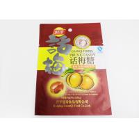 China Resealable Snack Stand Up Ziplock Bags With Aluminium / Flat Plastic on sale