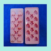China silicone tray for chocolate ,fashionable silicone ice cube tray wholesale