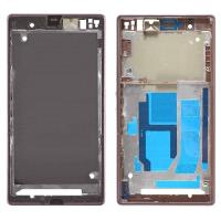 China Front Frame Cover Housing for Sony Xperia Z1, L39, C6902, C6903, C6943 Black wholesale