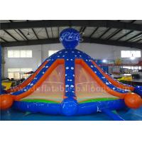 China 6m Diameter Octopus Inflatable Bouncy Castle Toys With Obstacle Courses Safety wholesale