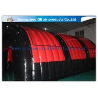 China Airtight Inflatable Air Tent Shelter for Outdoor Running Games 0.9mm PVC Tarpaulin wholesale