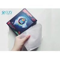 China Disposable Magnetic Catcher Color Absorbing LaundrySheets For Light Color Clothes wholesale