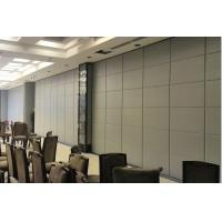 China Soundproof Wood Movable Partition Walls For Conference Room , Panel Thickness 85 mm on sale