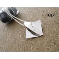 China Competitive price & good quality 925 Sterling Silver Gemstone Pendant with Zircon W-VB936 wholesale