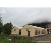 China Rustless Waterproof Fabric Sunshade Outdoor Event Tent , Frame Big Event Tents wholesale