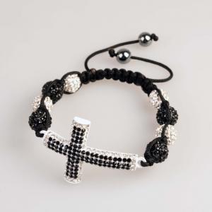 China Unique design 10mm CZ Crystal Bangle Bracelets with lower price wholesale