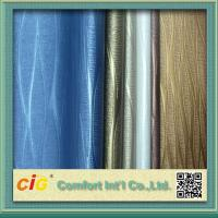 China Environmental PVC Artificial Leather Cloth For Sofa / Car Seat / Luggage Tear-Resistant wholesale