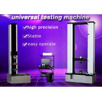 China 10KN Electronic Universal Testing Machine Protecting Functions Of Over Load wholesale