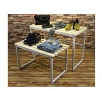 China Multi - Funcutional Nesting Display Tables Mobile Space Saving For Shopping Mall wholesale
