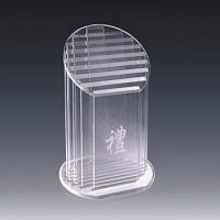 China Sport Prize Acrylic Award Trophy With Carve Letter 320 * 180mm wholesale