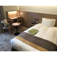 Buy cheap Comfortable Budget Hotel Apartment Furniture Sets With Plywood Panel Japanese Style from wholesalers
