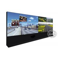 China Super wide TV Digital Signage Video Wall / DID Narrow Bezel LCD 46 Inch wholesale