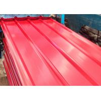 China Durable Color Coated Steel Roofing Sheet B3 Fire Rating Custom Size wholesale