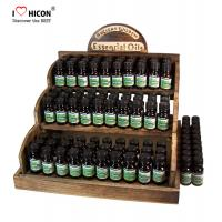 Buy cheap Counter Display Rack Fragrance Wooden Essential Oil Display Rack from wholesalers