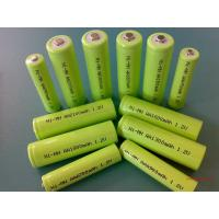 Buy cheap Green 1.2V DVD NIMH Rechargeable Battery AA 2700mAh With ROHS product