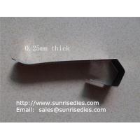 China Flat spring steel clips, sheet stamping steel parts, China stamping clip factory, on sale