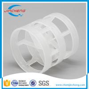 China Professional Plastic Random Packing , PVC PE PVDF CPVC Pall Ring Packing wholesale