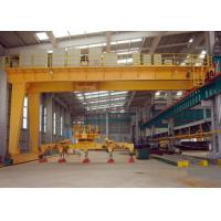 China Cantilever 50 Ton Semi Gantry Crane High Performance For Factory 380V 50Hz Three Phase wholesale