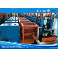 Quality Adjusted ERW Tube Mill Production Line Energy Saving Blue Color HG32 for sale