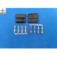 China brass material Gold - Plated Signal Wire To PCB crimp Connectors terminals with 1.27mm Ptich on sale