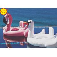 Buy cheap Baby Swan Swim Ring Pink Swimming Pool Floats Baby Flamingo Inflatable Ring product