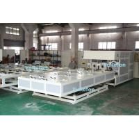 China Air Cooling PVC Pipe Belling Machine , Automatic PVC Pipe Welding Machine With 3gr13 Mould wholesale