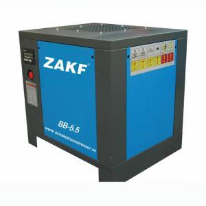 China Mini High Pressure Rotary Screw Compressor 5.5 HP 4 KW Belt Air Cooling ZAKF wholesale