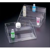 China Transparent Acrylic Cosmetic Display , 3 Tier Acrylic Display Case with Drawers wholesale