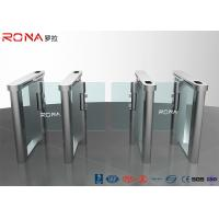 China Automatic Flap Barrier Speed Gate Turnstile Access Control System 304 Stainless Steel wholesale