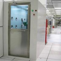 Buy cheap Cold Rolled Plate Air Shower Room Automatic Single / Double Door Type from wholesalers