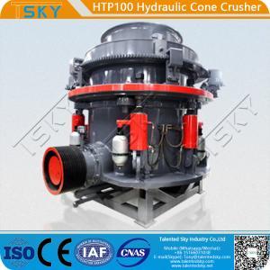 China HTP100 high-efficiency hydraulic cone crusher wholesale